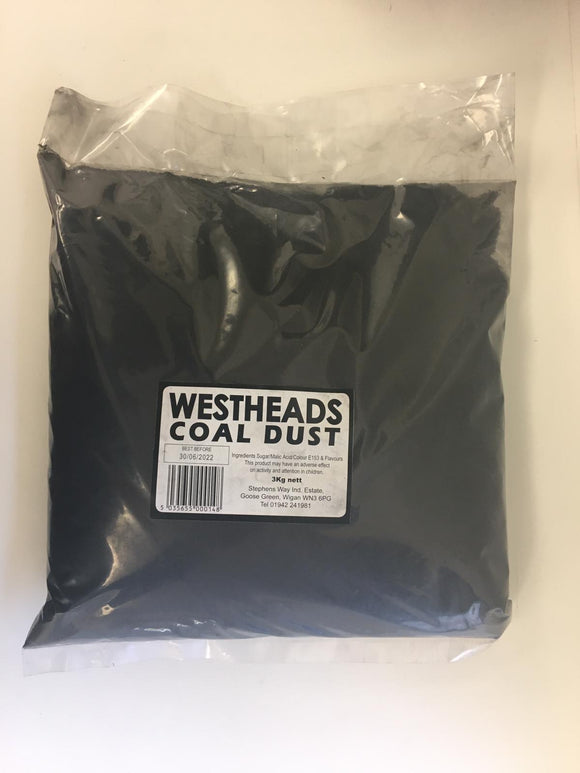 Westheads Coal Dust 3kg Bag