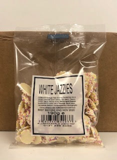 Unbranded White Jazzies Pre Pack Bag Bag 24 x 190g