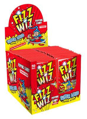 Fizz Wizz Strawberry 50pk
