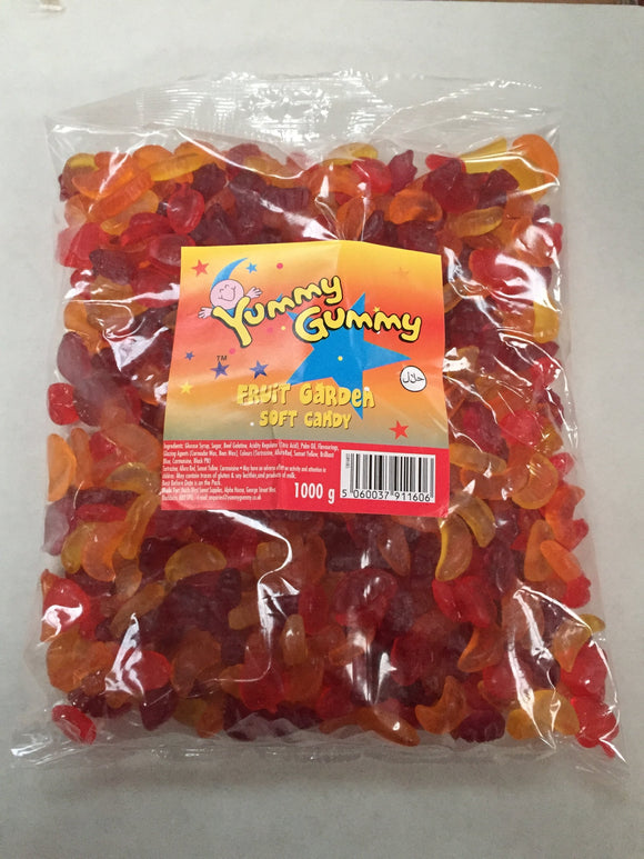 Yummy Gummy Fruit Garden 1kg Bag
