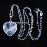 Gem Stone Heart Necklace