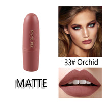 25 COLOURS EASY TO WEAR LIPSTICK MATTE