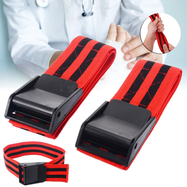 1 Pair Blood Flow Restriction Bands Occlusion Bands Blood Flow Restriction Occlusion BFR Tourniquet Training Biceps Bands