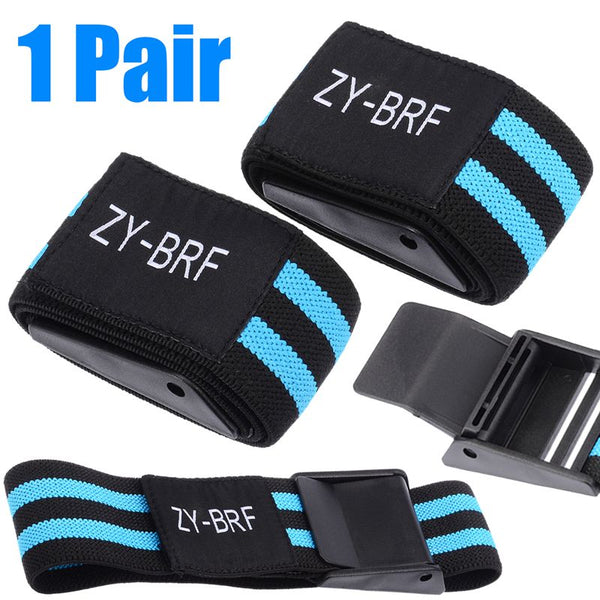 1 Pair BFR Bands Occlusion Weight Lifting Blood Flow Restriction Occlusion Training Bands BFR Fitness Arm Strap