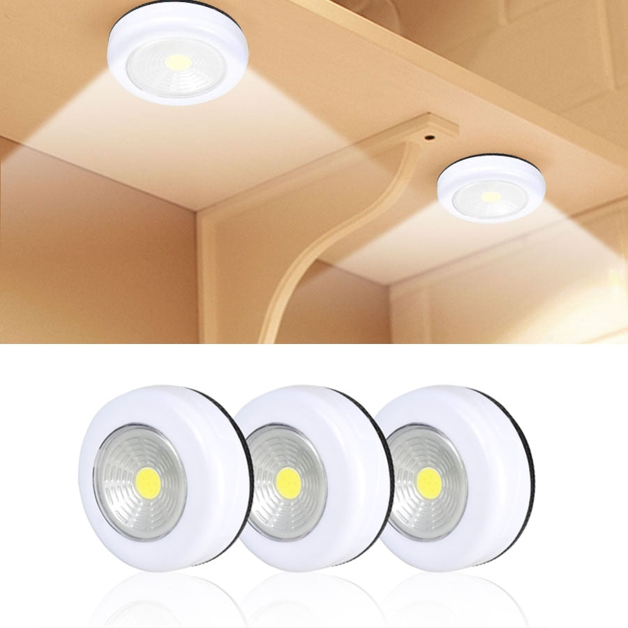 COB LED Under Cabinet Light With Adhesive Sticker
