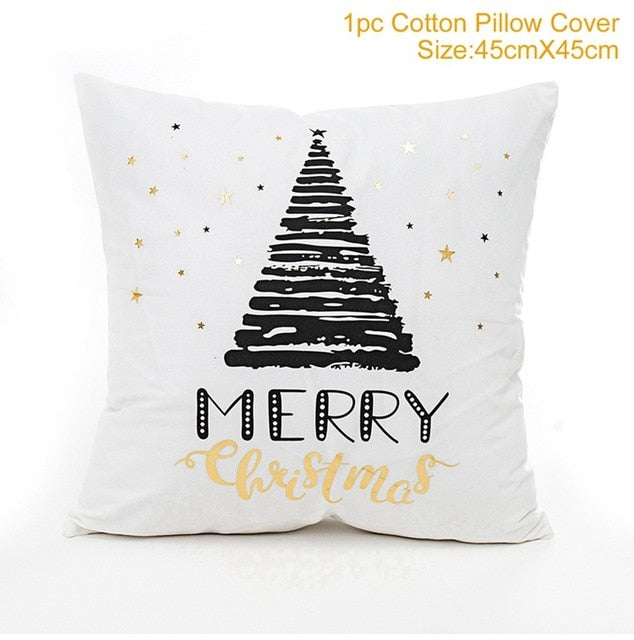 Navidad Chrismas Pillow Case Merry Christmas
