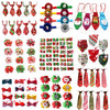 50pcs Christmas Pet Products Dog Bows Cat Dog