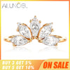 925 Sterling Silver Rings For Women 5A Zircon