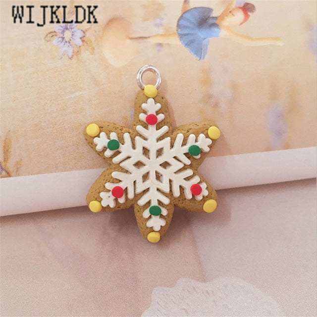 1pcs Mini 3cm Gingerbread Man Christmas