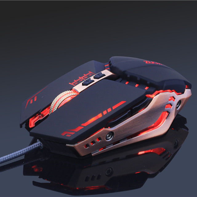 ZUOYA USB Wired Gaming Mouse 7 Buttons