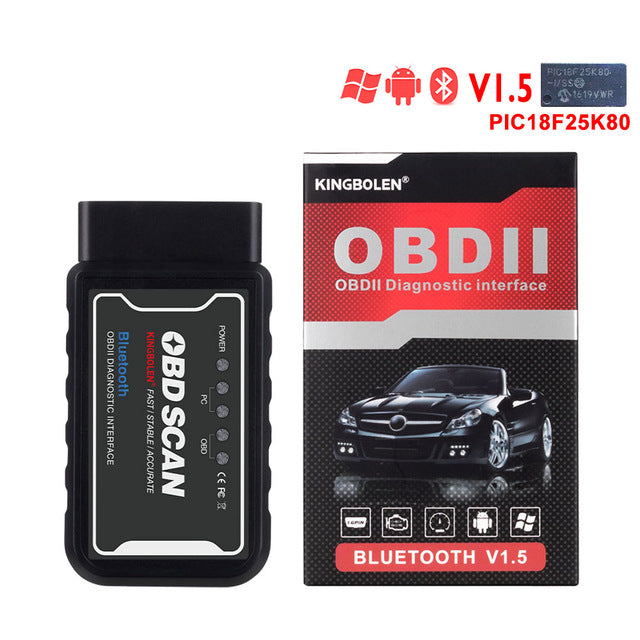 ELM327 WiFi V1.5 PIC18F25K80 Chip OBDII Diagnostic