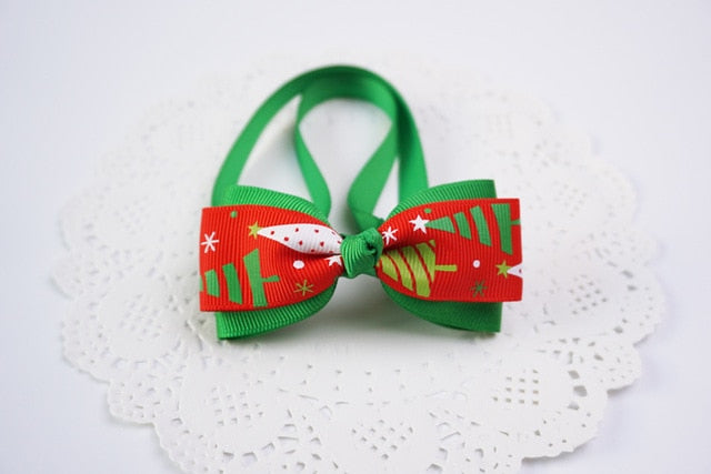 1 Pieces Cute Christmas Pet Supplies Handmade