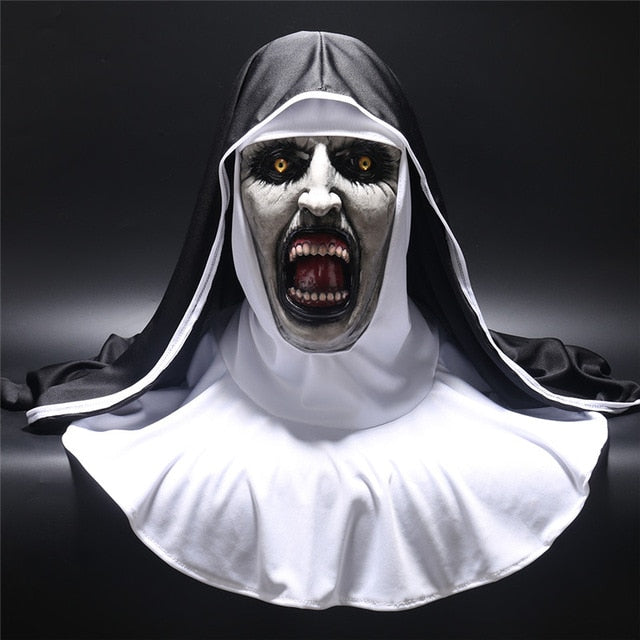 2018 The Nun Horror Mask Cosplay Valak Scary Latex Masks