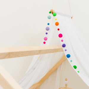 Polka Dot Garland-Scribble & Sew