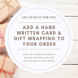 Handwritten Card & Gift Wrapping-Scribble & Sew