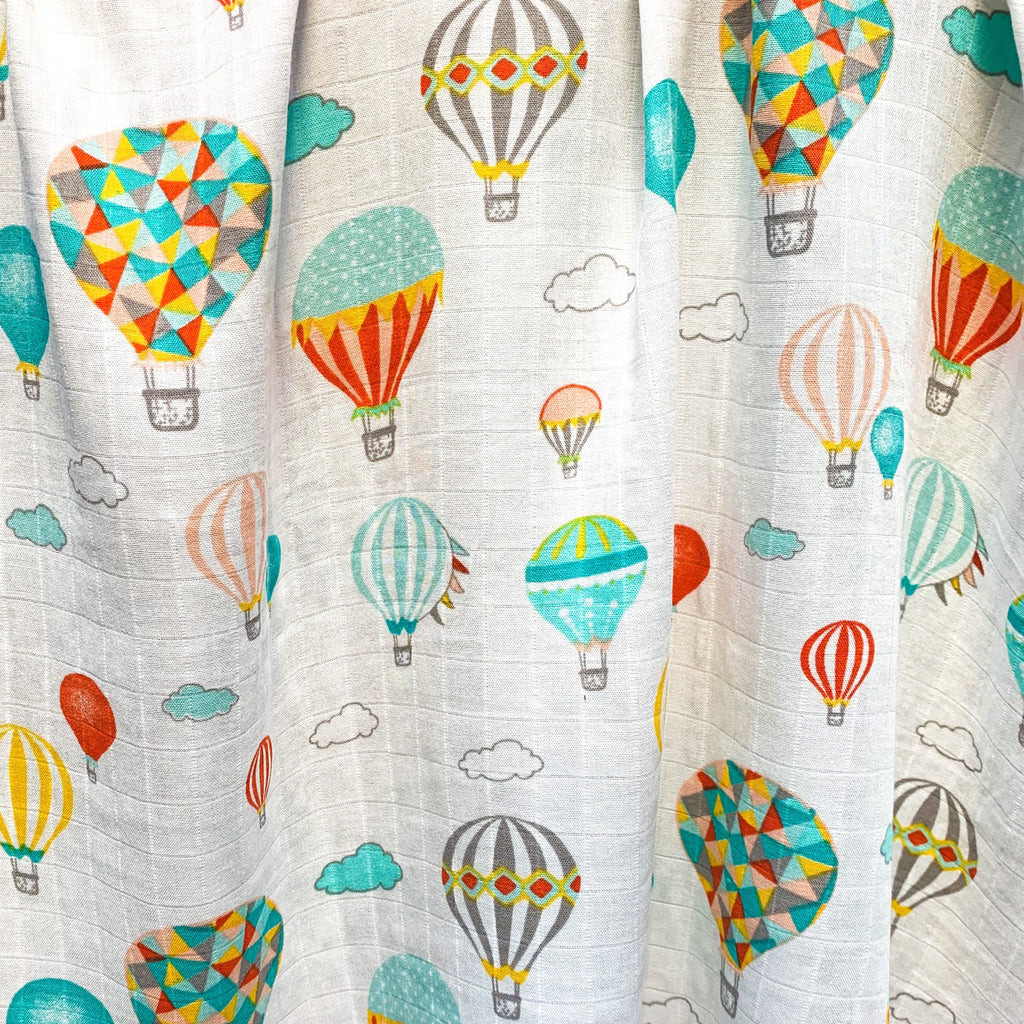 Hot Air Balloons Muslin Blanket