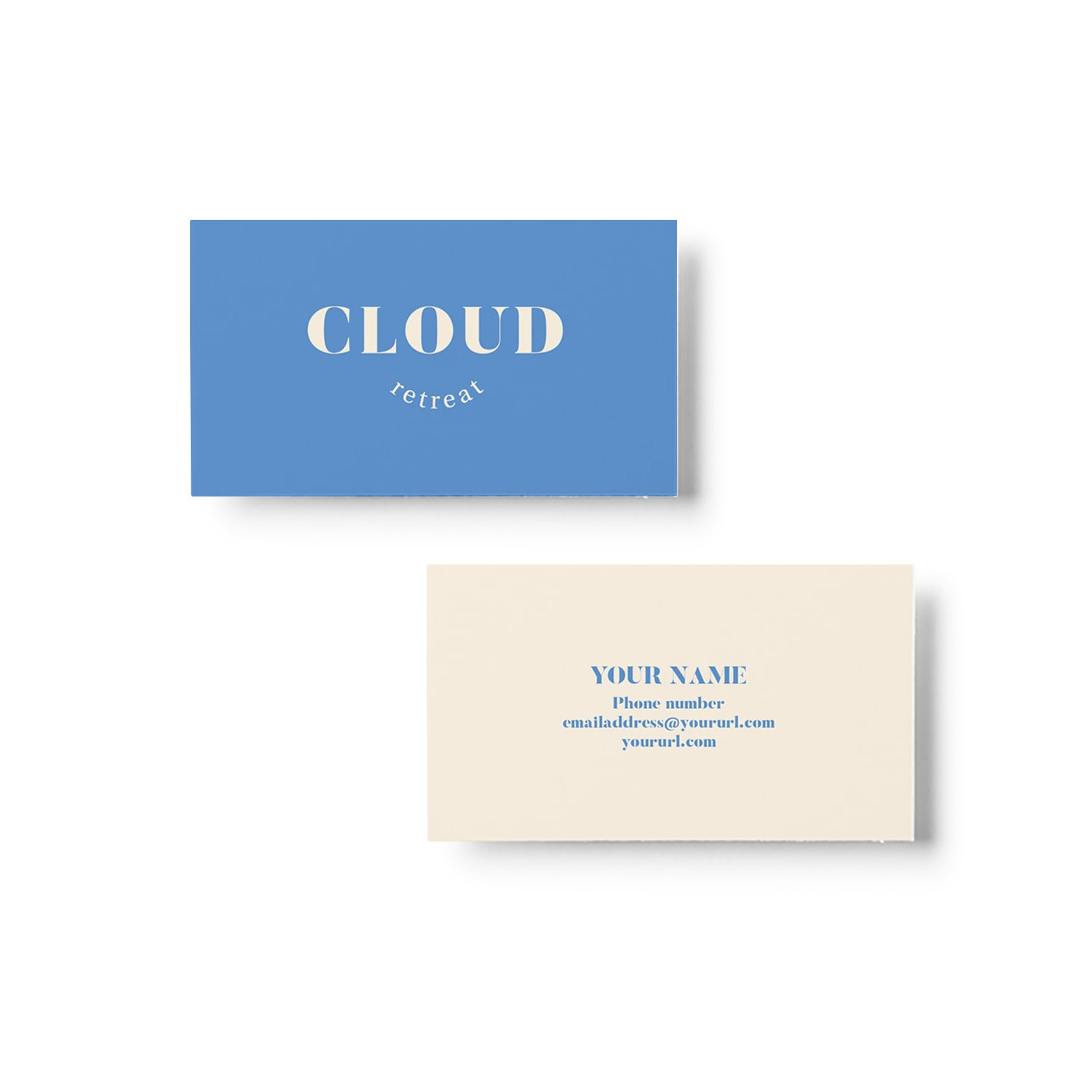Cloud Retreat Business Card Design_Copyright Tiny Crowd