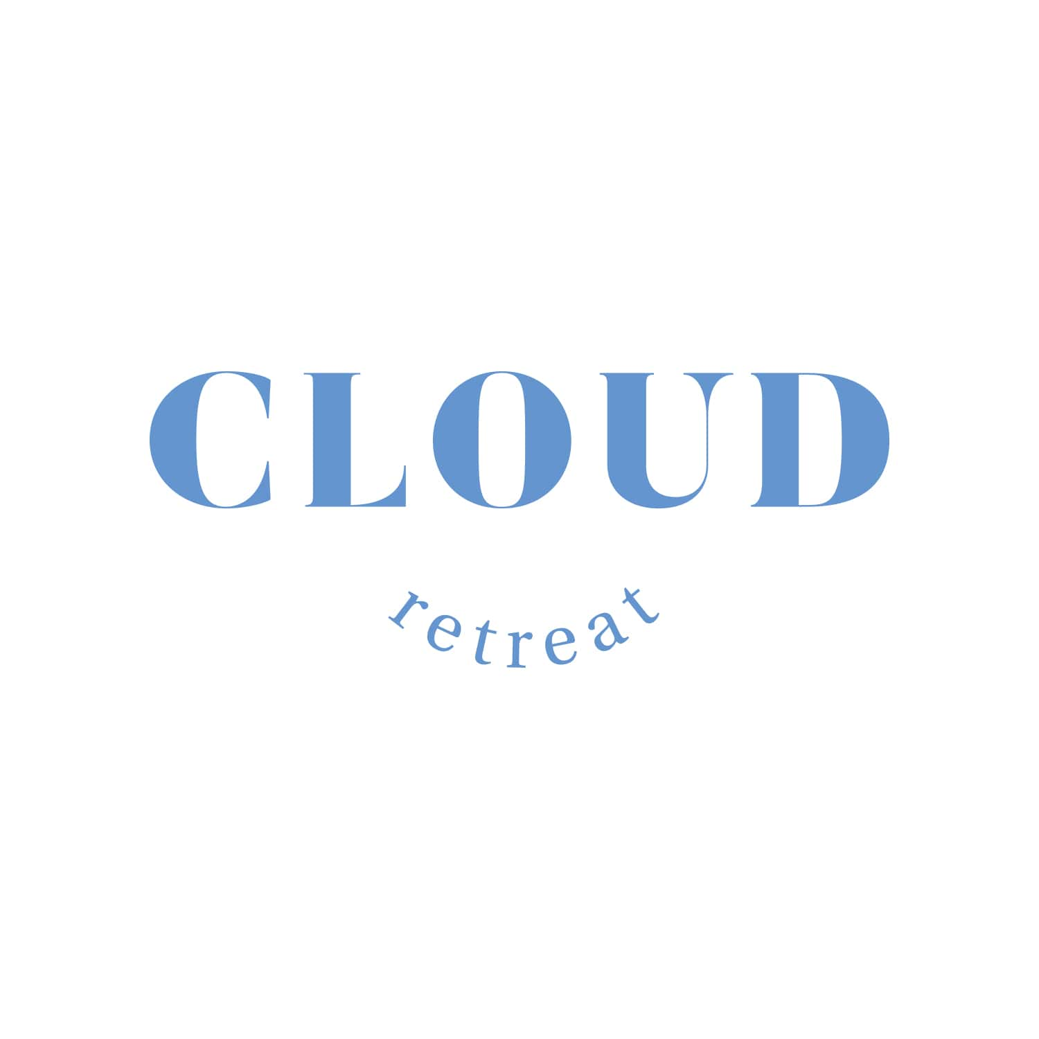 Cloud Retreat Logo Design_Copyright Tiny Crowd
