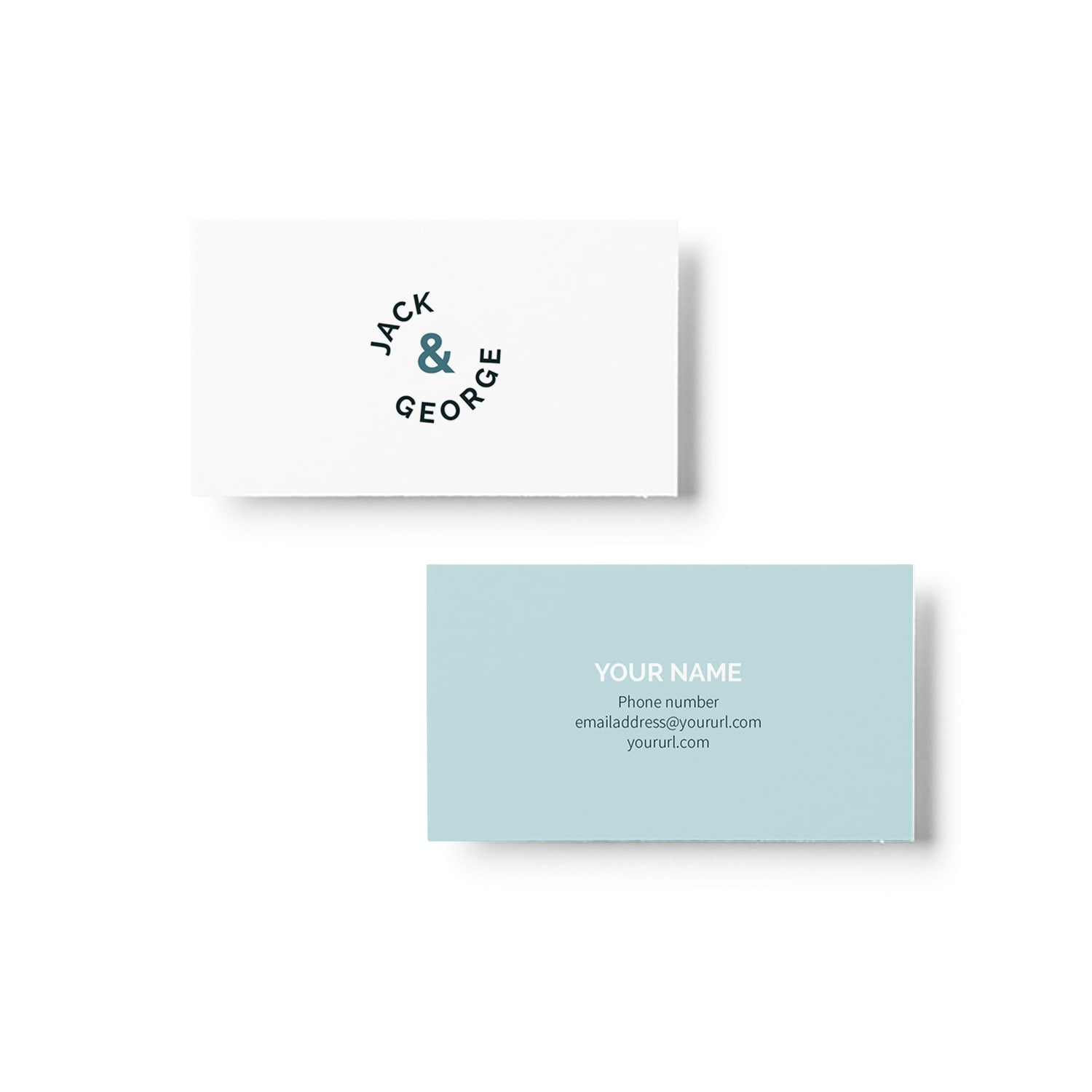 Jack & George Business Card Design_Copyright Tiny Crowd
