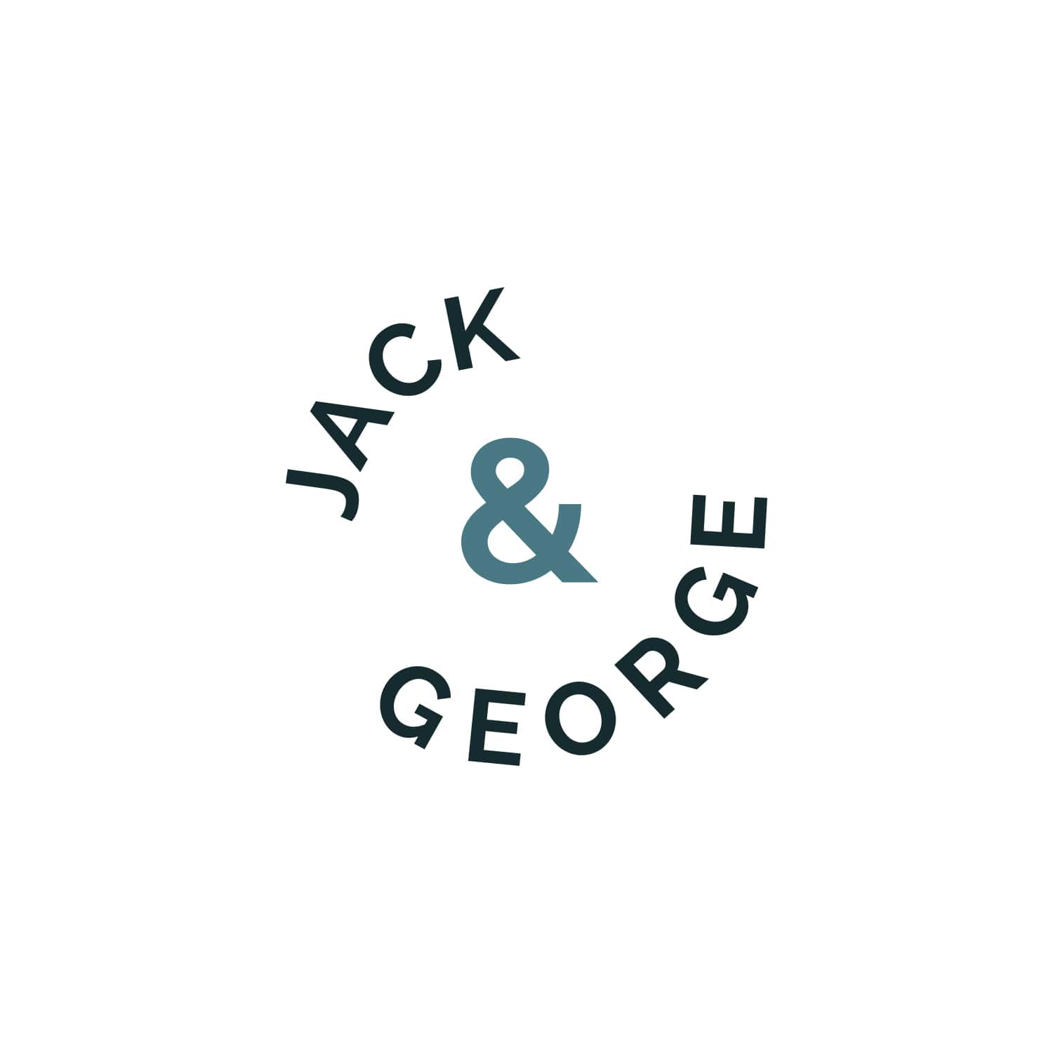 Jack & George Logo Design_Copyright Tiny Crowd