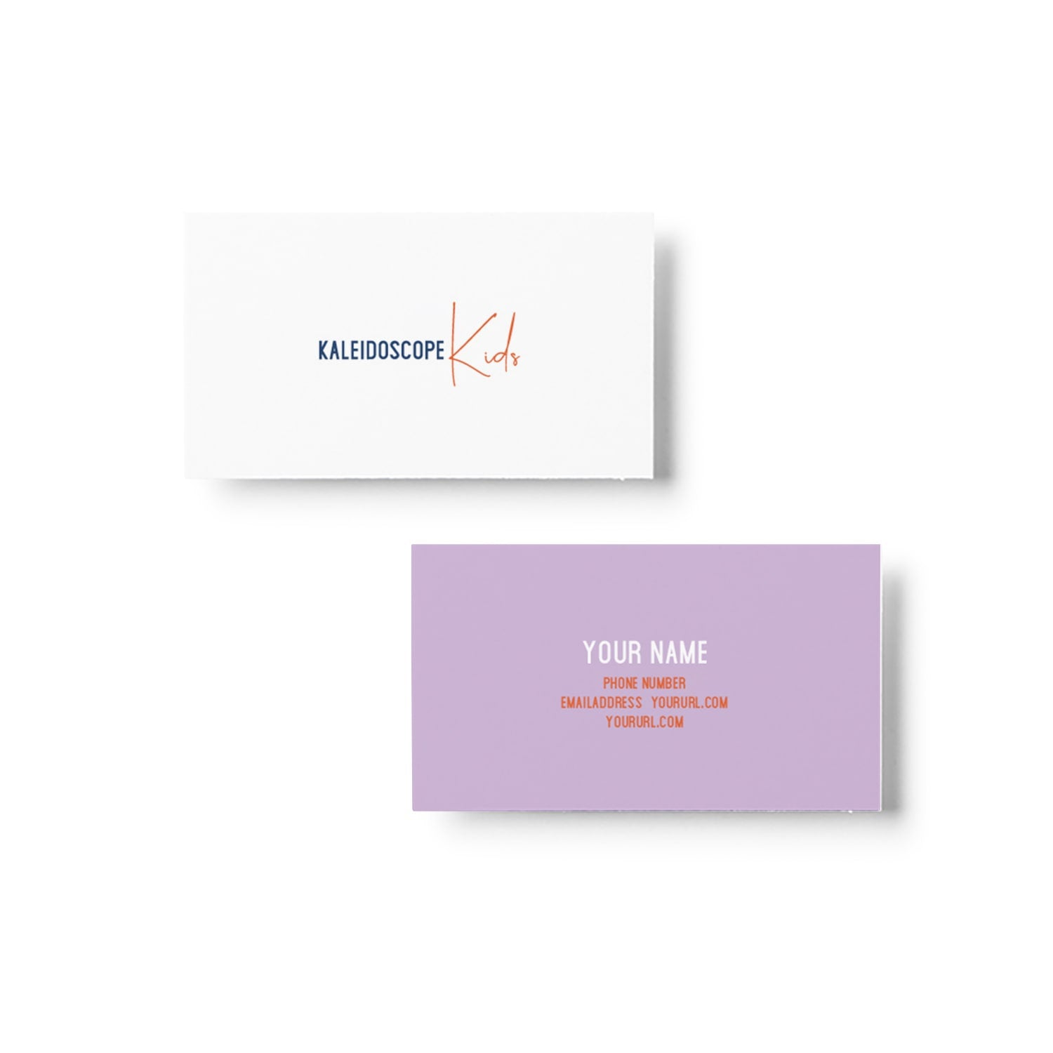 Kaleidoscope Kids Business Card Design_Copyright Tiny Crowd