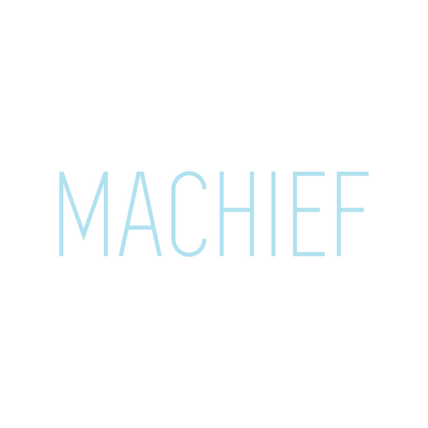 Machief Logo Design_Copyright Tiny Crowd