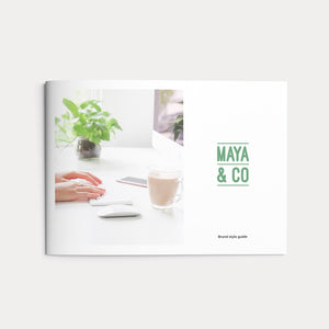 Maya & Co Brand Guidelines_Copyright Tiny Crowd