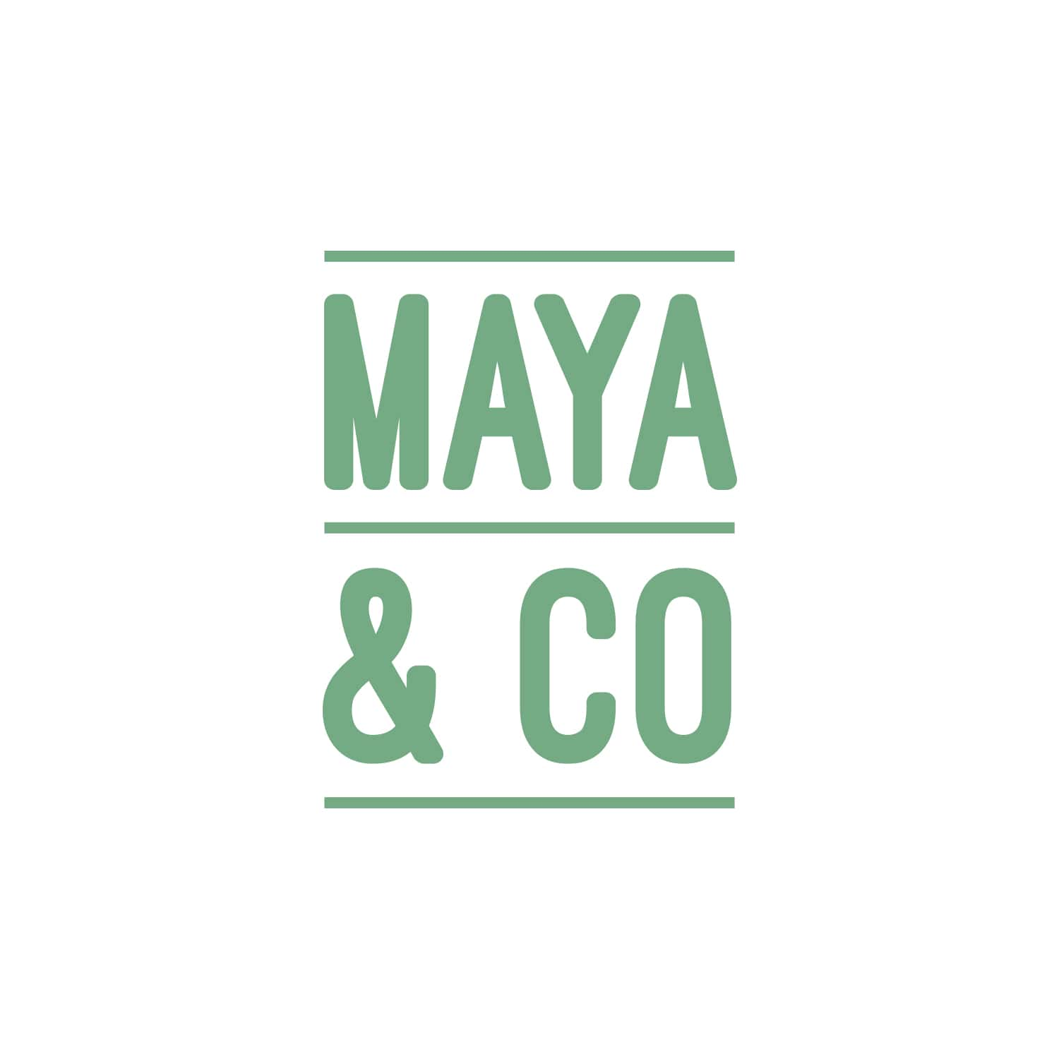 Maya & Co Logo Design_Copyright Tiny Crowd