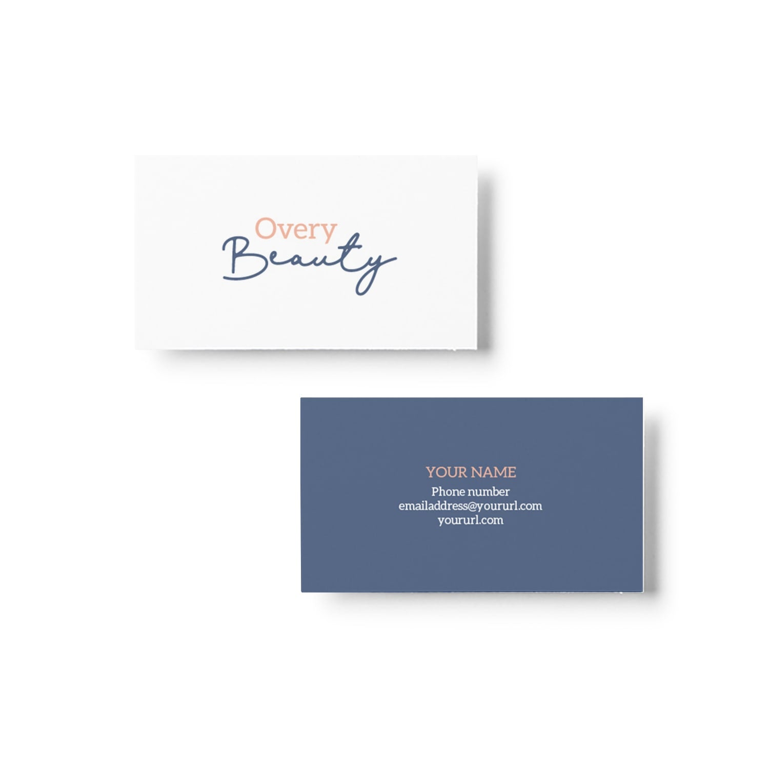 Overy Beauty Business Card Design_Copyright Tiny Crowd