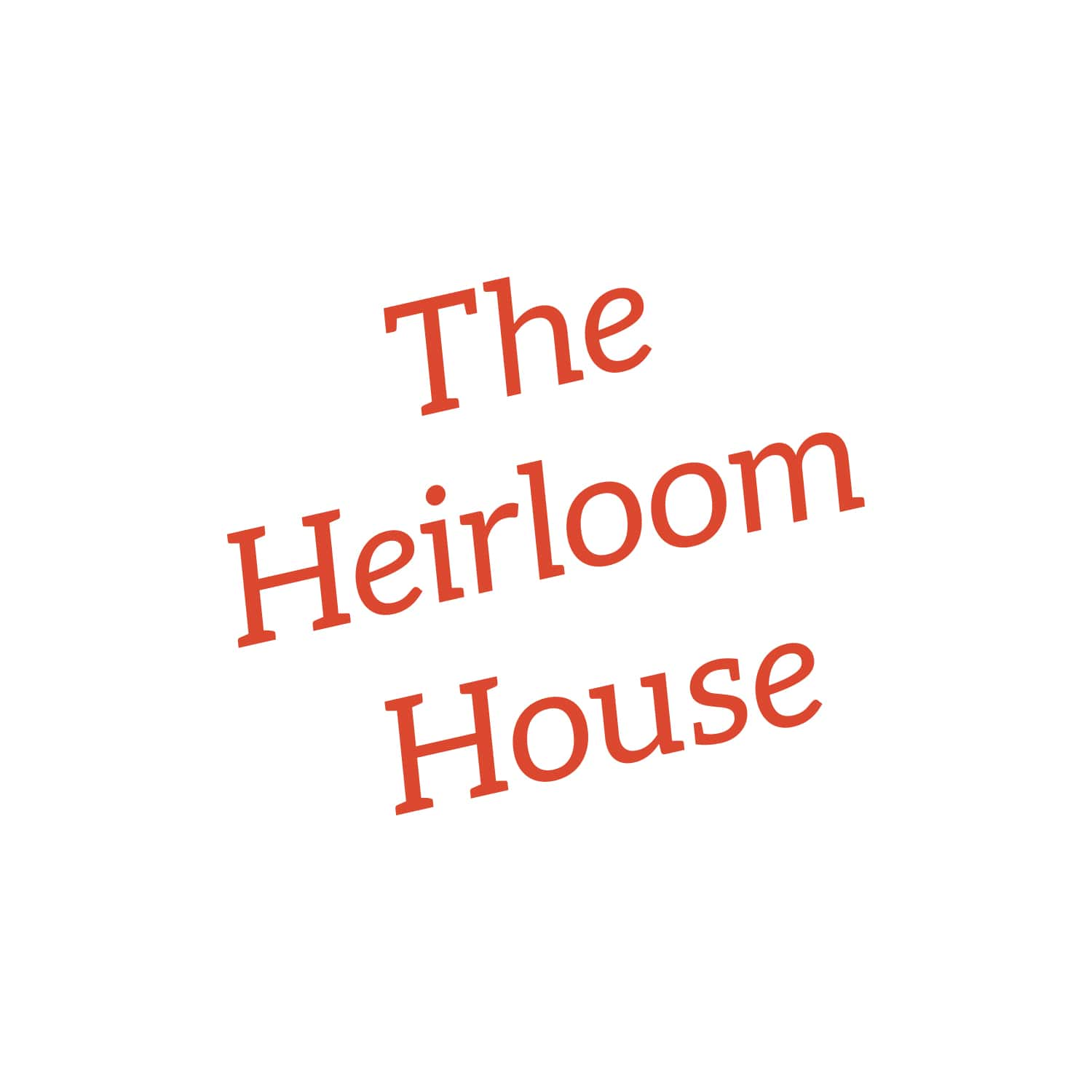 The Heirloom House Logo Design_Copyright Tiny Crowd
