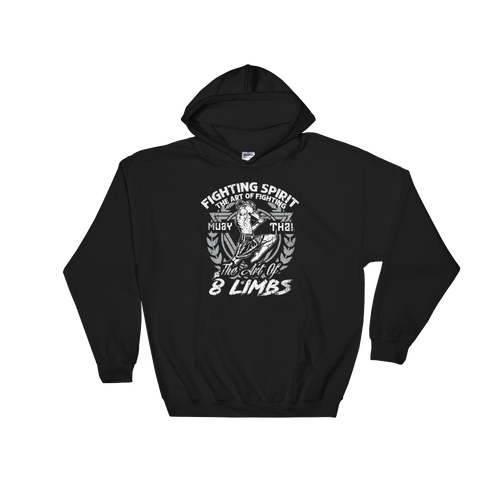 Muay Thai Hoodie - 8 Limbs - RMFCLOTHING