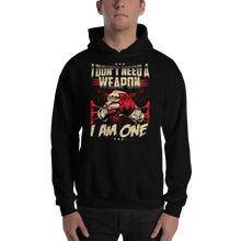 Load image into Gallery viewer, I am A Weapon Hoodie - RMFCLOTHING