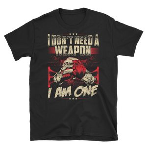 Ladies Tee - I am a Weapon! - RMFCLOTHING