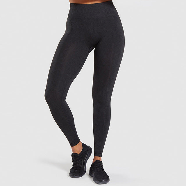 High Waist Seamless Leggings - RMFCLOTHING