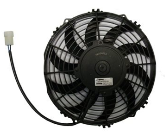 FAN 10 PO PUSH 12V COURBÉ - 30100320