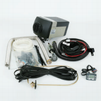 GC0641 - Heater Kit, Air, 2 kW, 12V, Diesel, Digital Controller