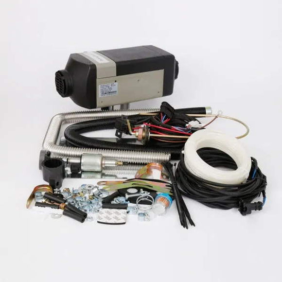 BISON 2000A - GC0057 - Heater kit, Air, 2kW, 12V, Diesel, Analog Controller