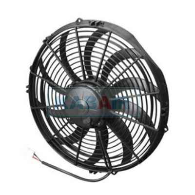 FAN 14 PO - PUSH - 12V CURVED BLADE - 30102056