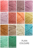 Knitted Names - Solid Colours
