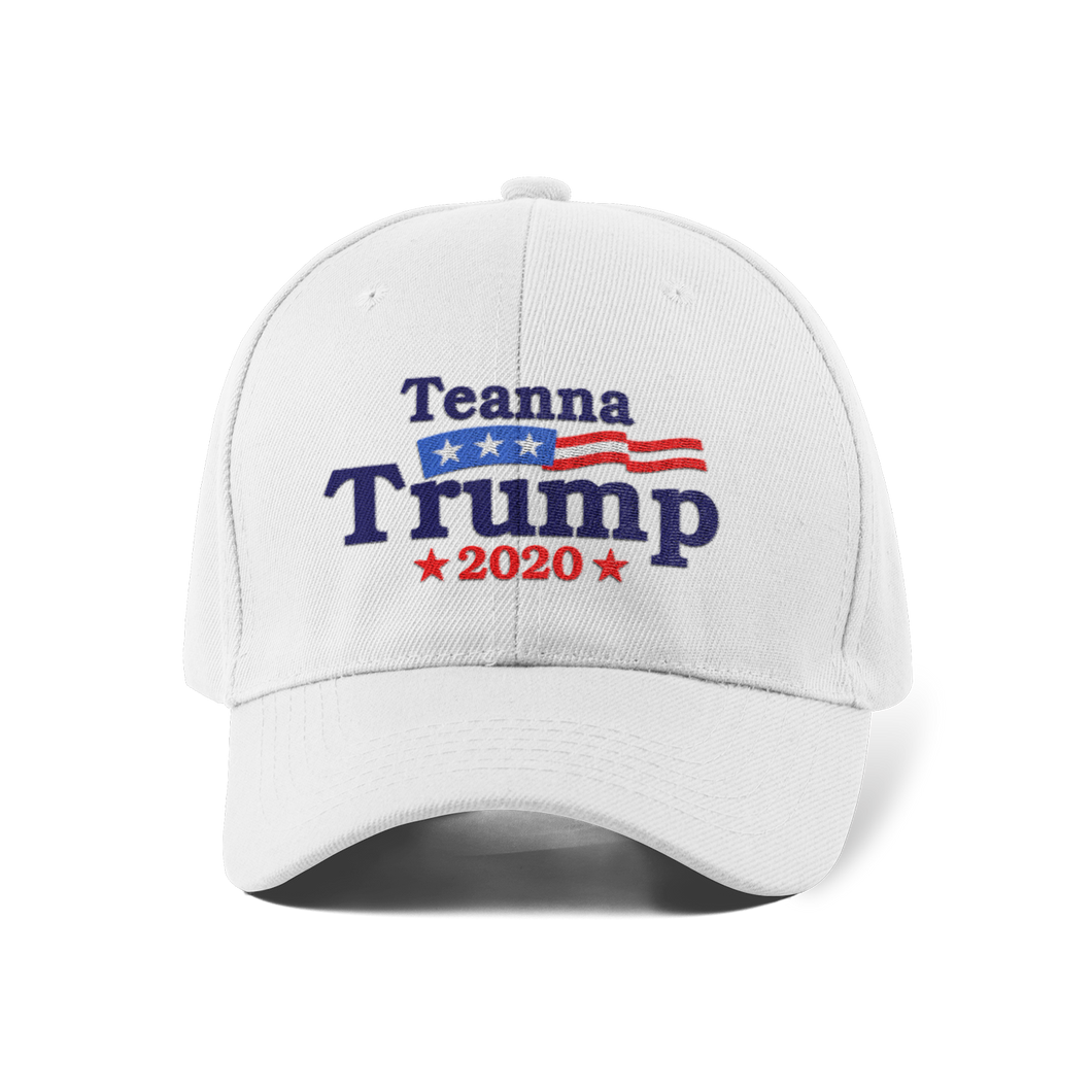 Vote Teanna Dad Cap / White
