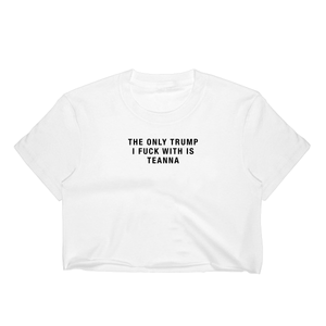 Only Teanna Crop Tee / White