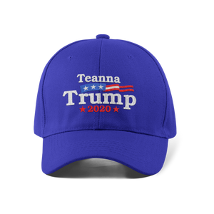 Vote Teanna Dad Cap / Blue