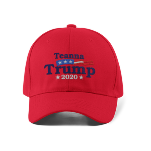 Vote Teanna Dad Cap / Red