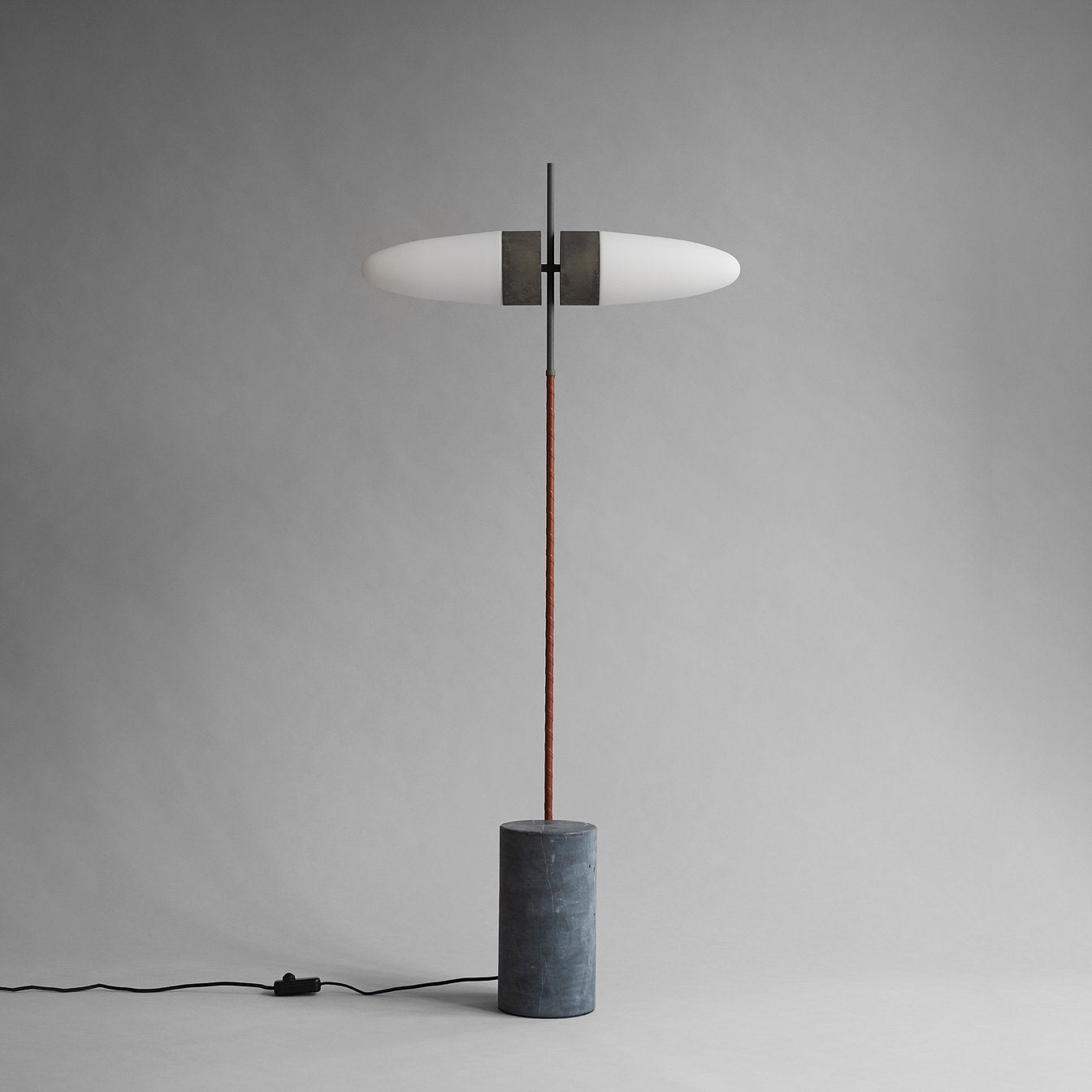 Bull Floor Lamp, with Frame