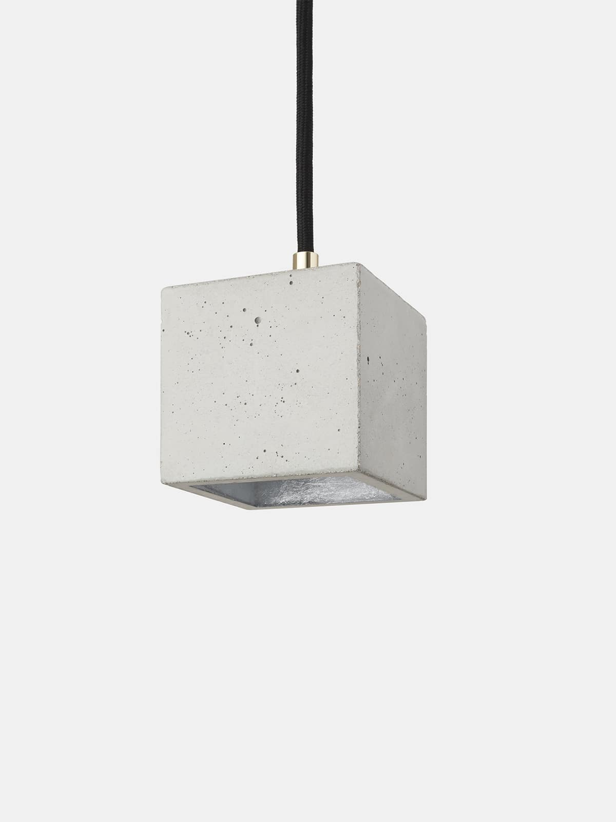 B6 Light Concrete Cubic Pendant Light