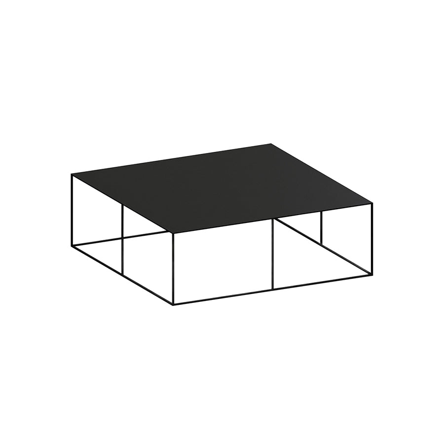 Slim Irony Low Table | 70 x 70cm