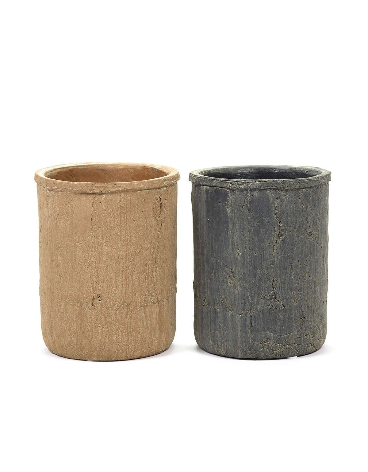 Mossed Pot - Set of 2