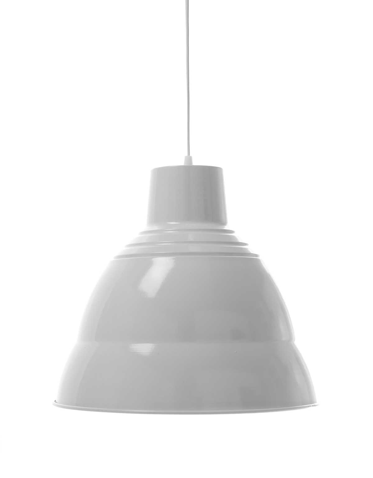 White Traditional Pendant Lamp 1