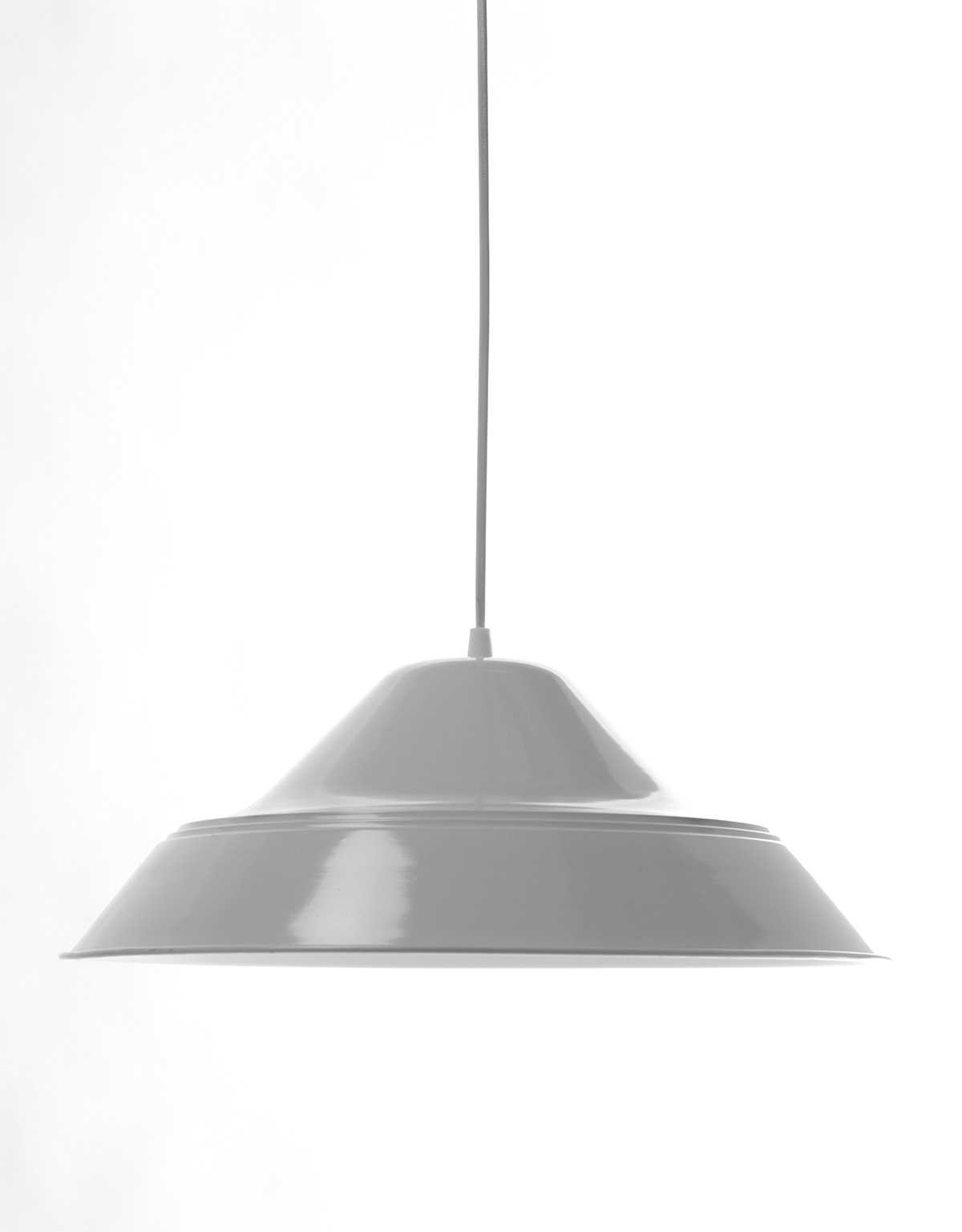 White Traditional Pendant Lamp 2