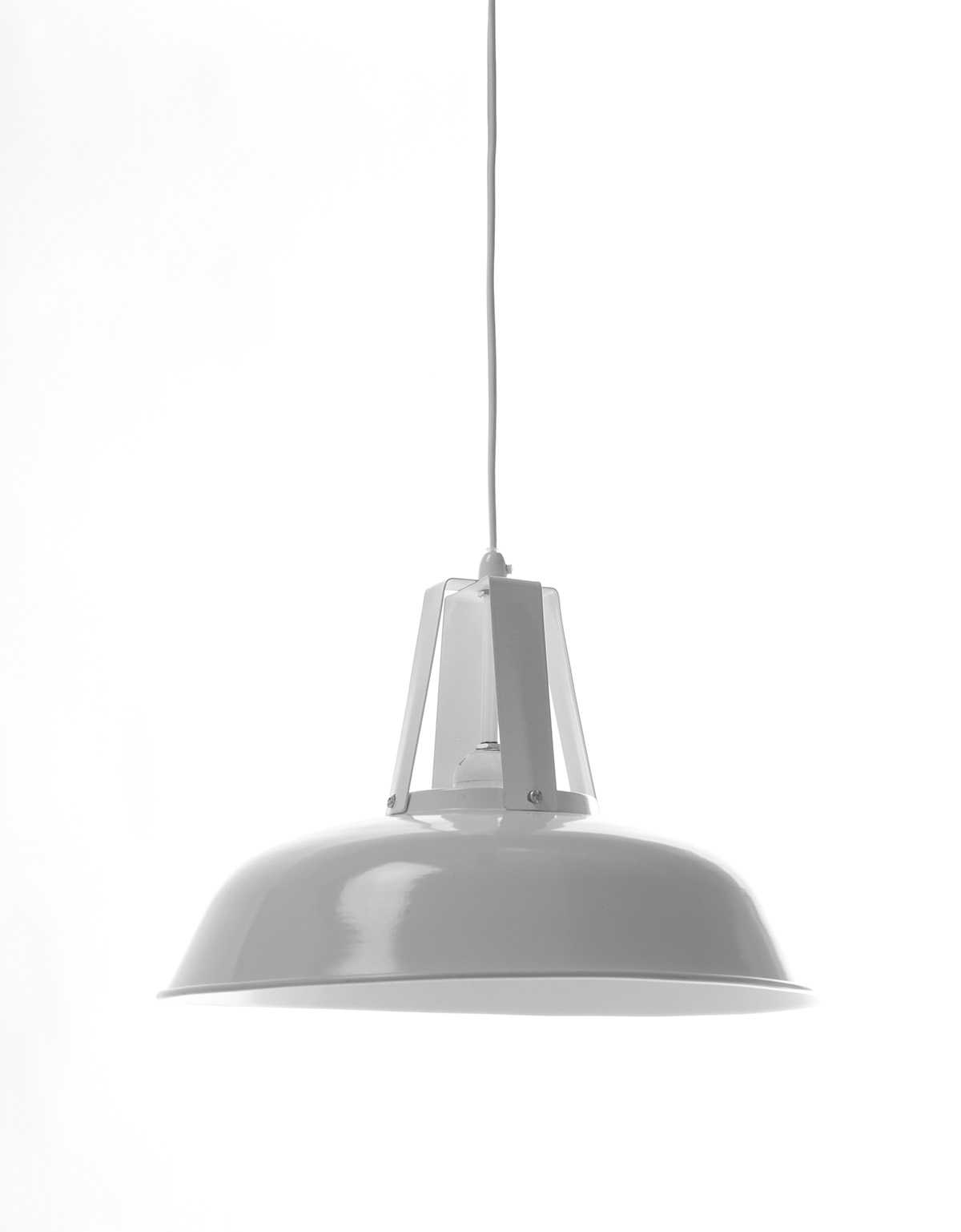 White Traditional Pendant Lamp 3